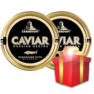 (1+1) 2 Caviar of the Russian Sturgeon Zarendom® 50 g