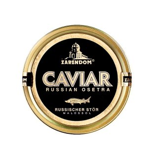 (1+1) 2 Caviar of the Russian Sturgeon Zarendom® 125 g