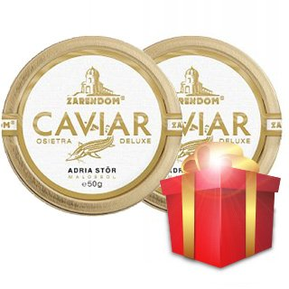 Adriatic Sturgeon Caviar by Zarendom® 50 g, Buy one get...